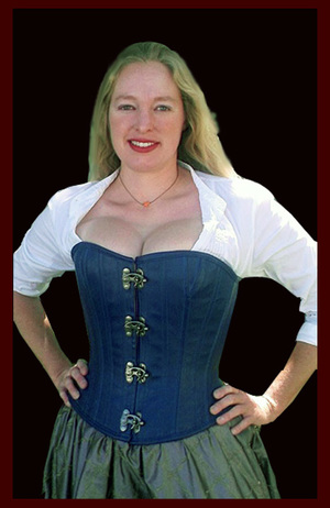 1ebcd51eda1 Busty OR Tall Standard Overbust Corset — Pendragon Costumes
