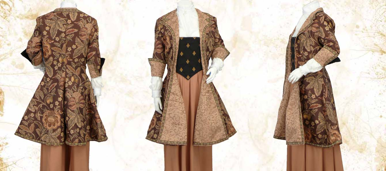 The Womens Frockcoat Pendragon Costumes