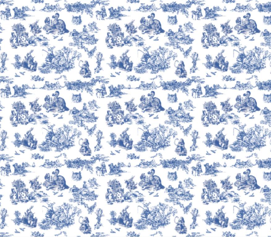 Alice Toile blue