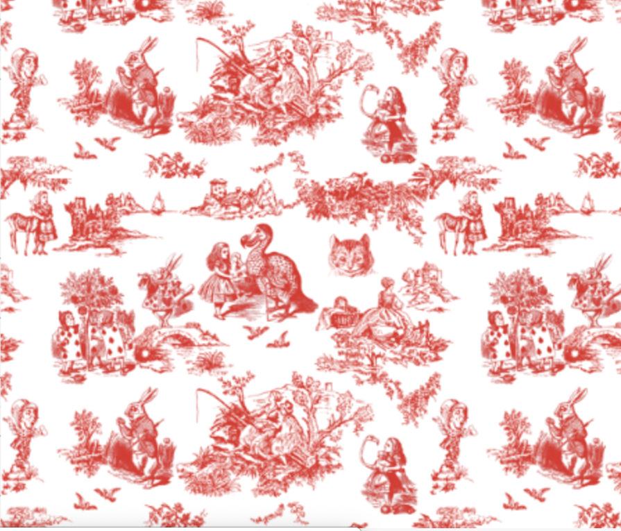 Alice Toile red