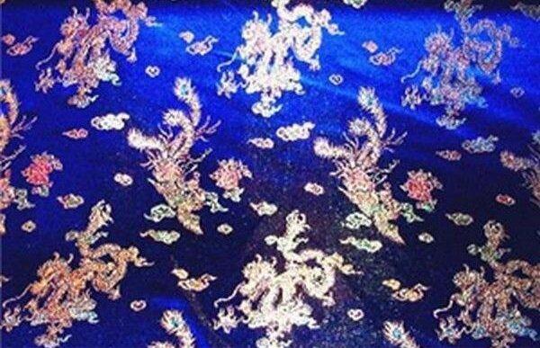 Dragon / Phoenix Royal Blue