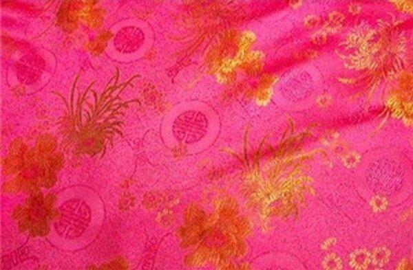 Floral Brocade Pink