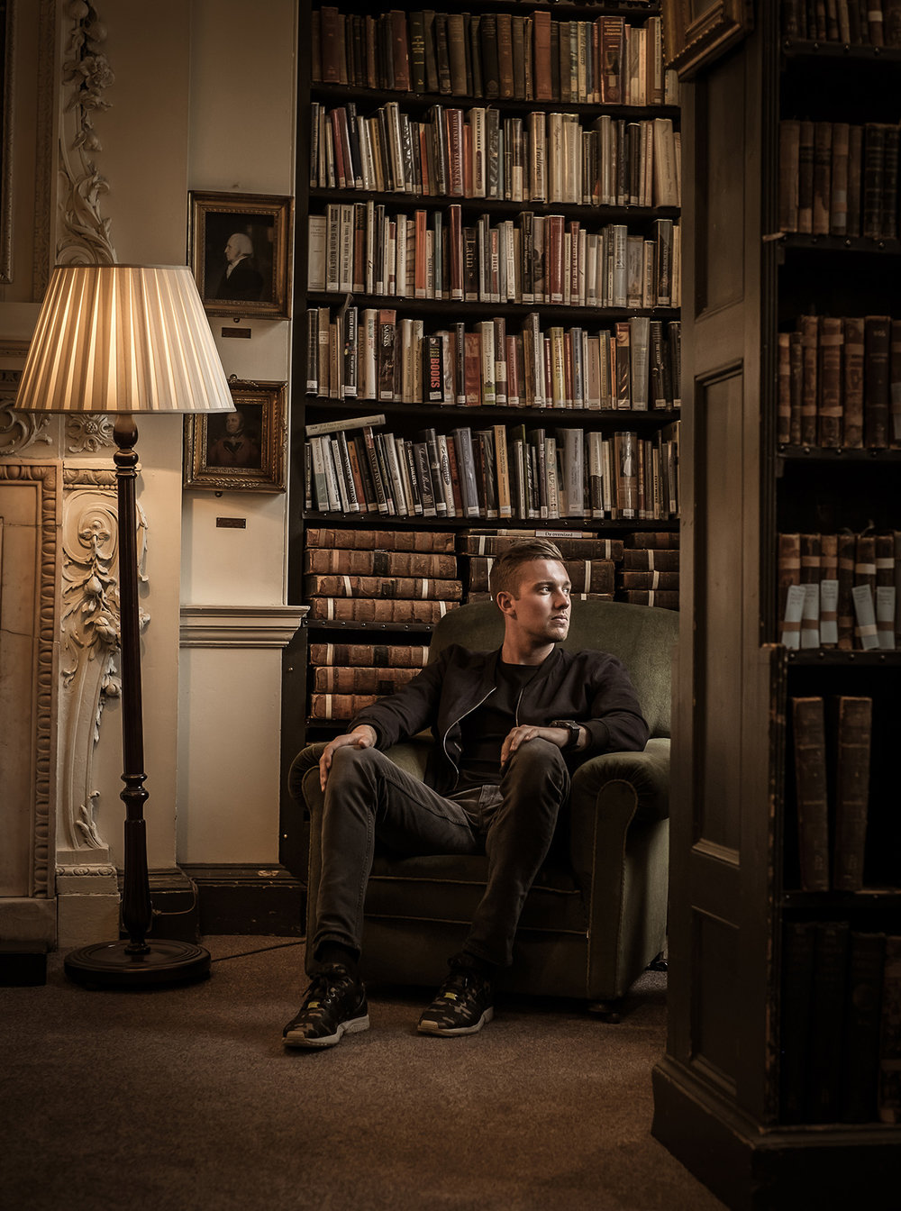 Jake Ball England Cricketer editorial photoshoot by Karl Bratby