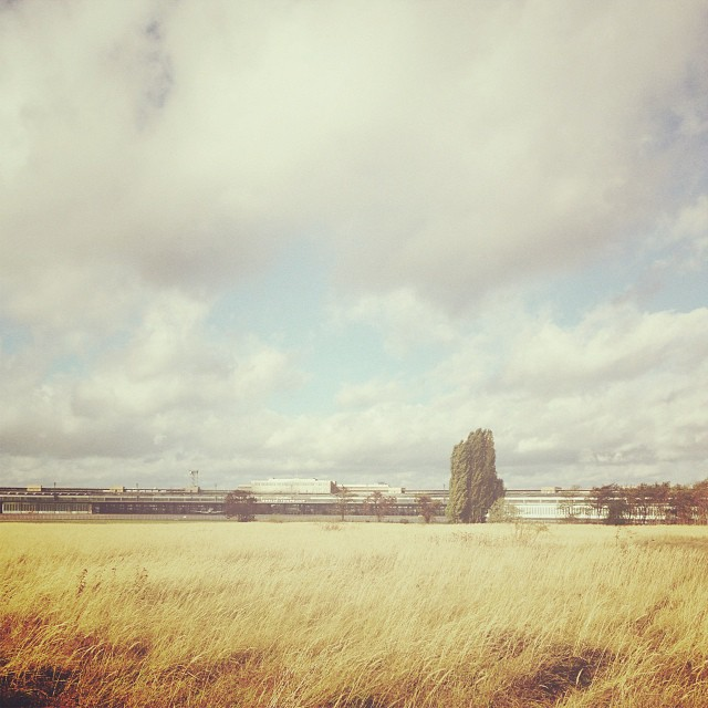27/10/2013 •Visited Tempelhof (airport) earlier today, great place.