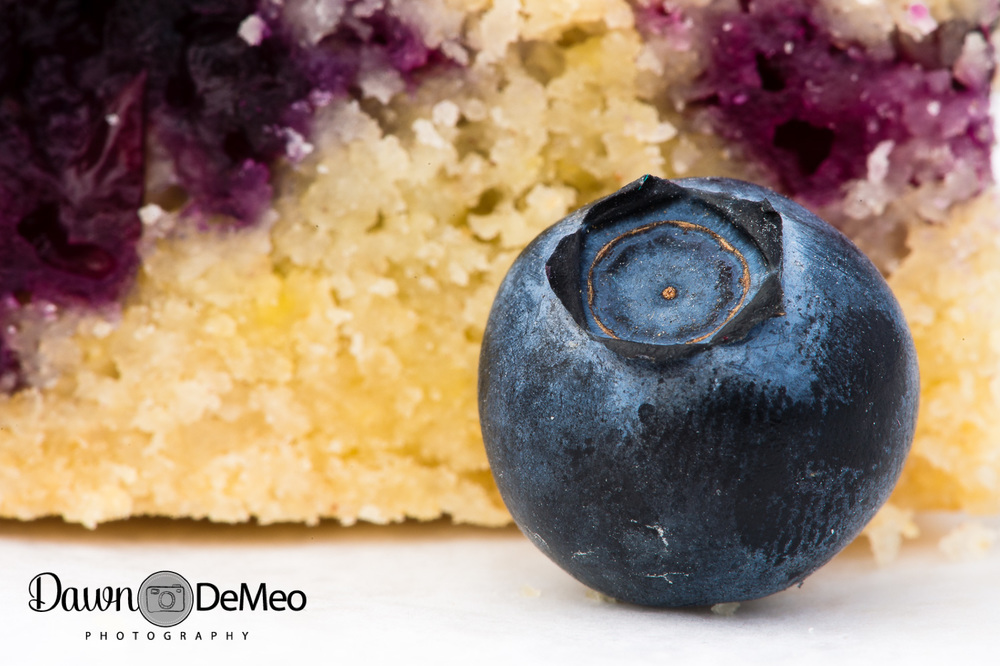 Day 22 - Jan 22: Today. I singled out this one blueberry in a shot of some blueberry crumb bars I'd made. I'd take the photo a day early, but it was the day I submitted it as a macro assignment for a course I'm taking, so I think it still fits the theme.