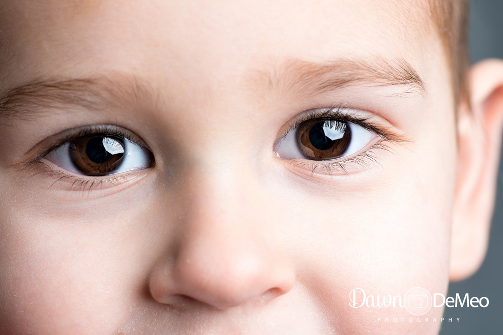 Day 34 - Feb 3: Eyes. I think my kids have the most stunning eyes! Here are my son's.