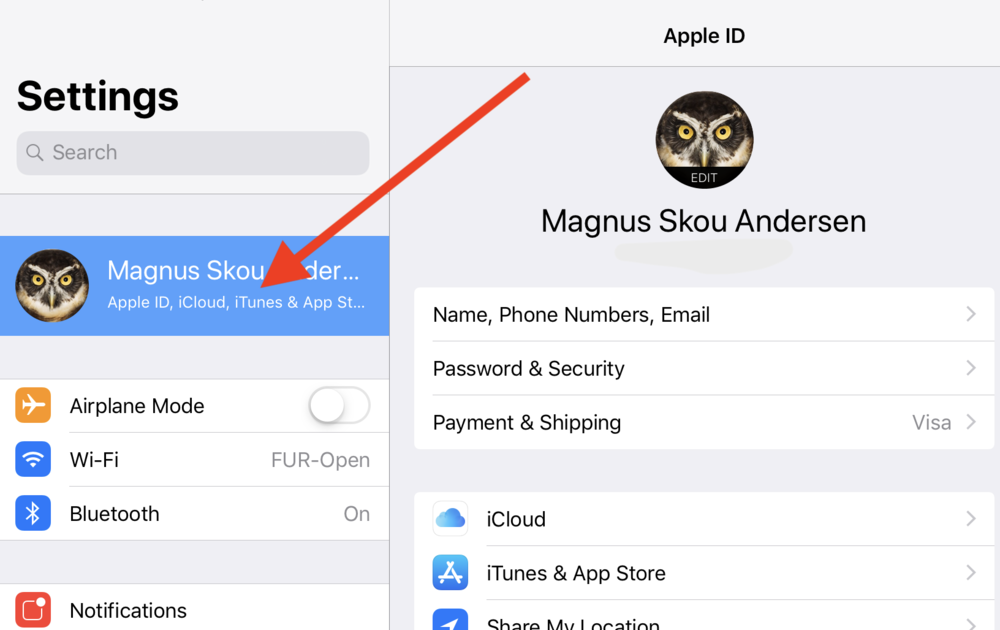 The user must be signed into iCloud