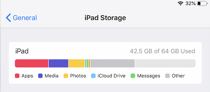 There is at least 1GB of free space on the local device