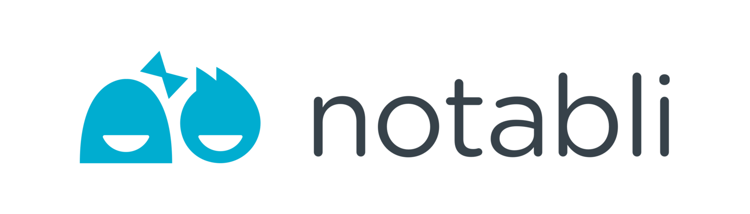 Notabli - Your kids' moments. Private & Organized.