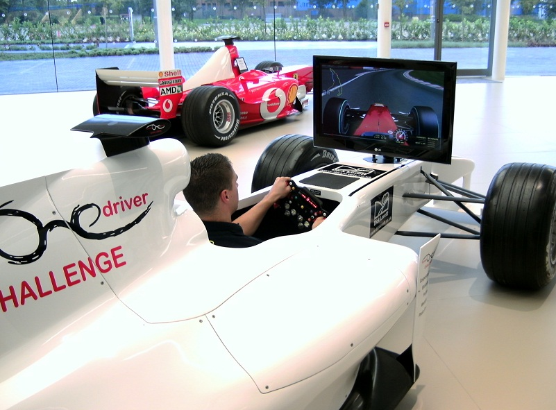 Formula-One-Simulator