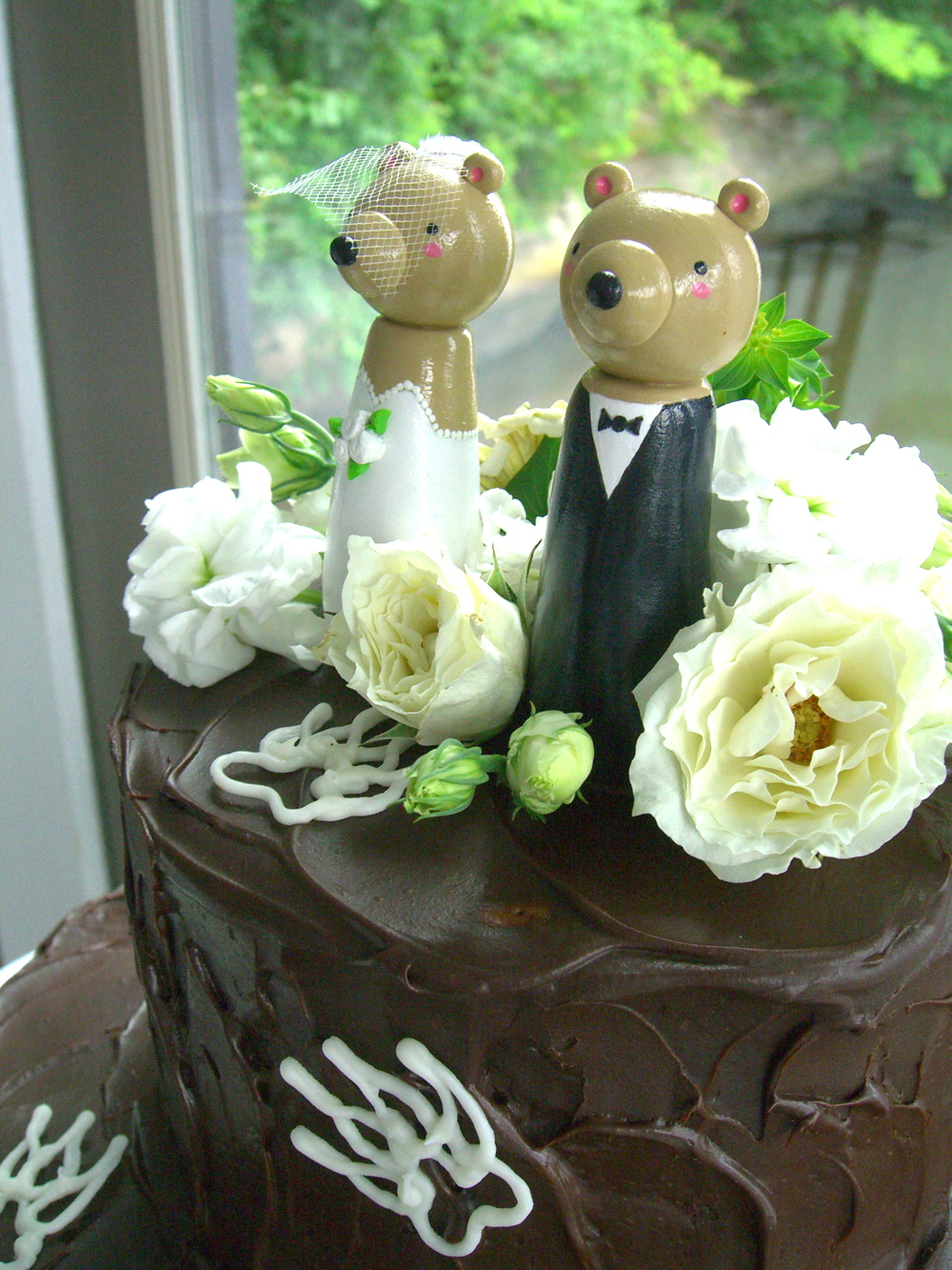 Rocky Mountain Wedding Cake