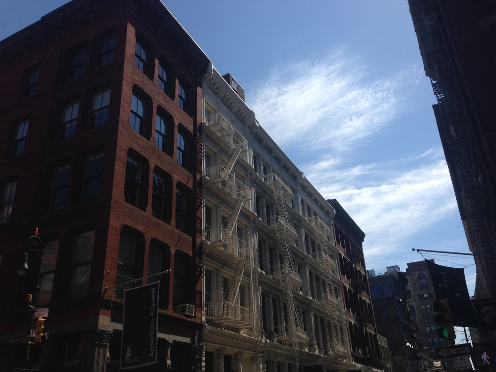 A sunny Saturday in Soho. We were so lucky with this beautiful weather.