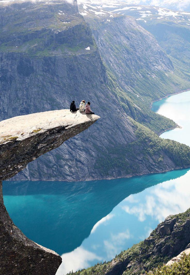 Trolltunga - The Troll's Tongue, Norway