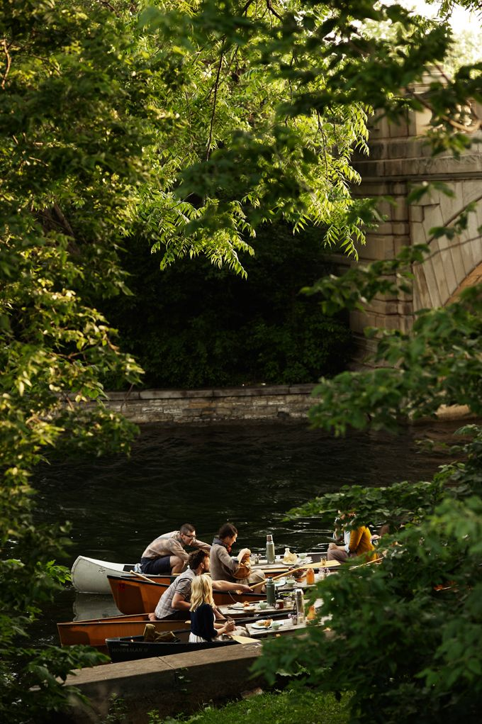 Via  Kinfolk  and  Pinterest   And I am pretty sure there will be some boating as well.