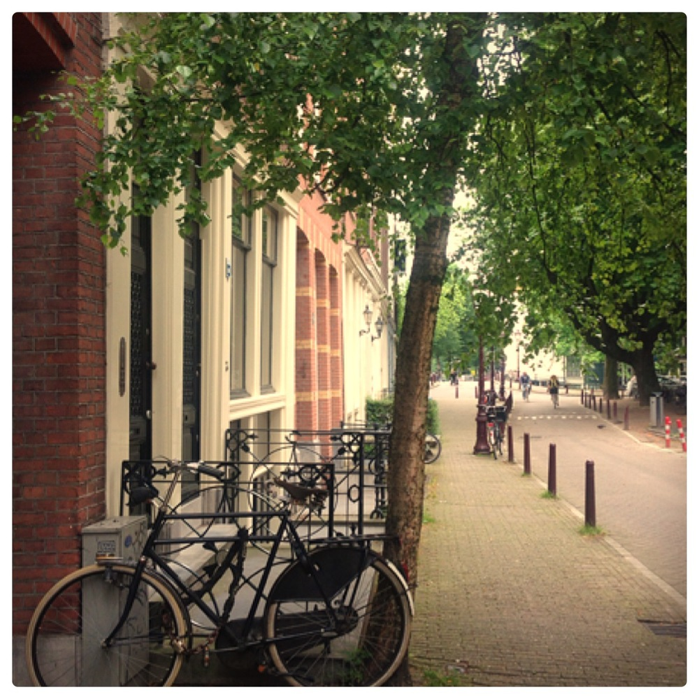 Picture taken with my iphone.  Amsterdam, The Jordaan.