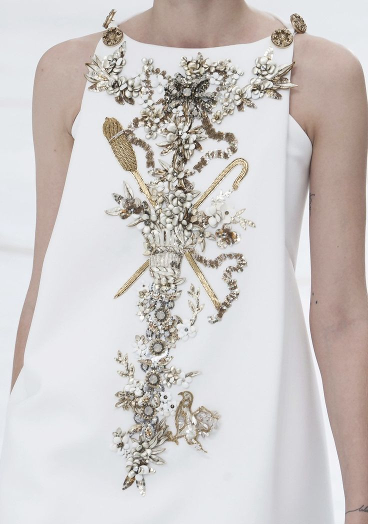 Chanel Haute Couture Fall 2014  Image via  here