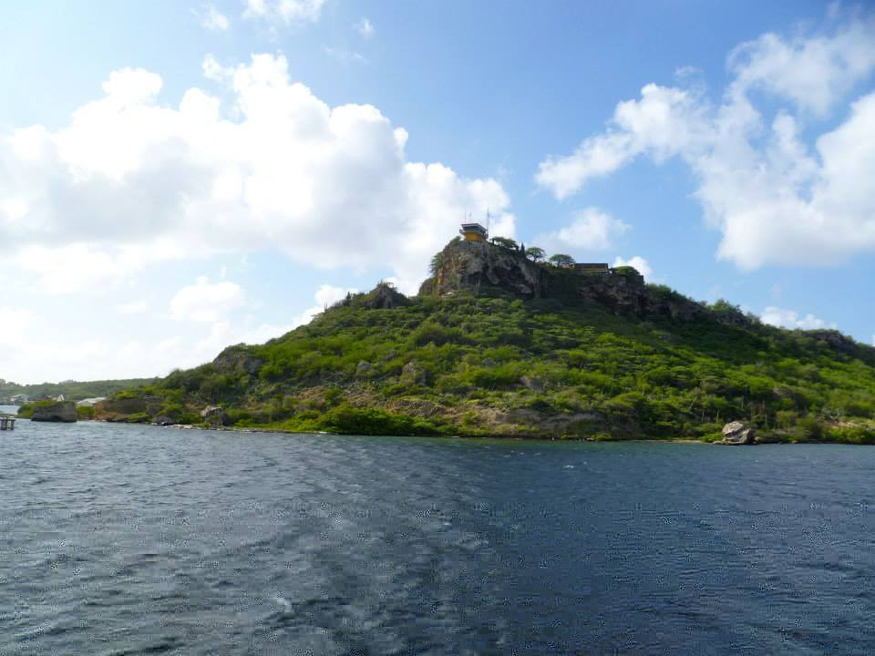 Picture from my own collection.  Fort Nassau  in Curacao.