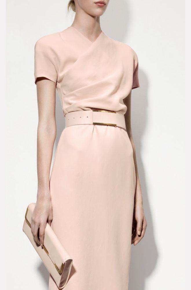 Image via  Pinterest.  Dress by  Bottega Veneta .