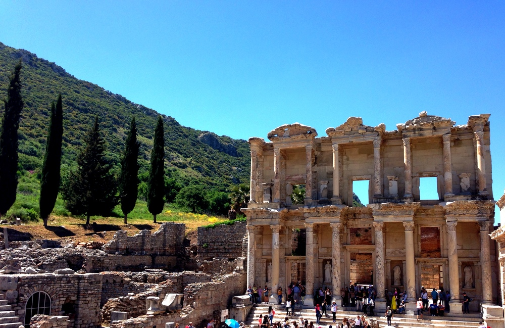 The Library at Ephesus. Photo from my own collection.