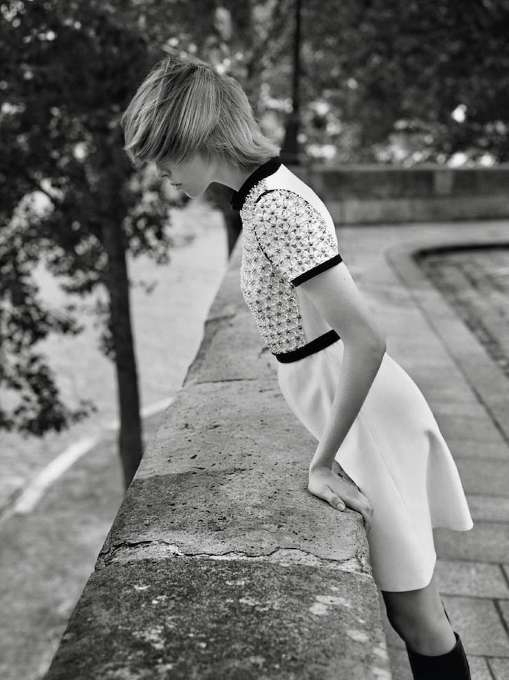 Photographs by Alasdair McLellan, of Edie Campbell. Image via the beautiful Dustjacket Attic.