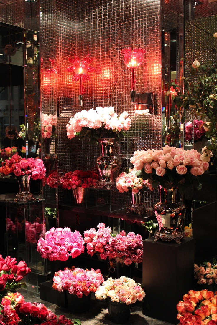 The Dani's Rose Boutique at Hotel Costes. Image via here.