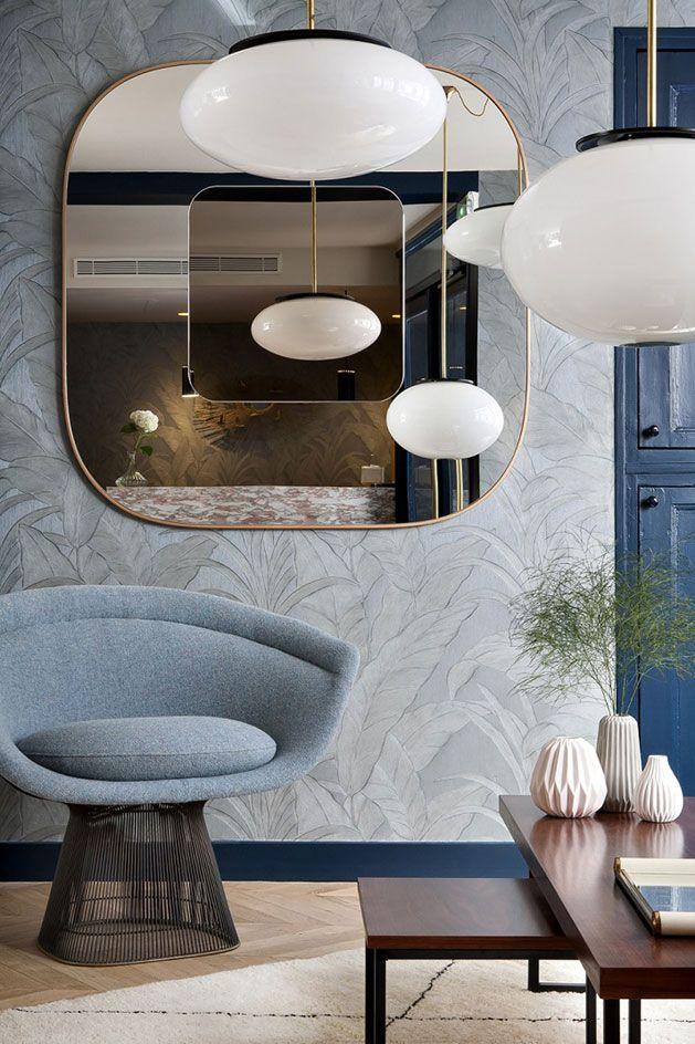 Hotel Henriette Rive Gauche in Paris. Image via  here.