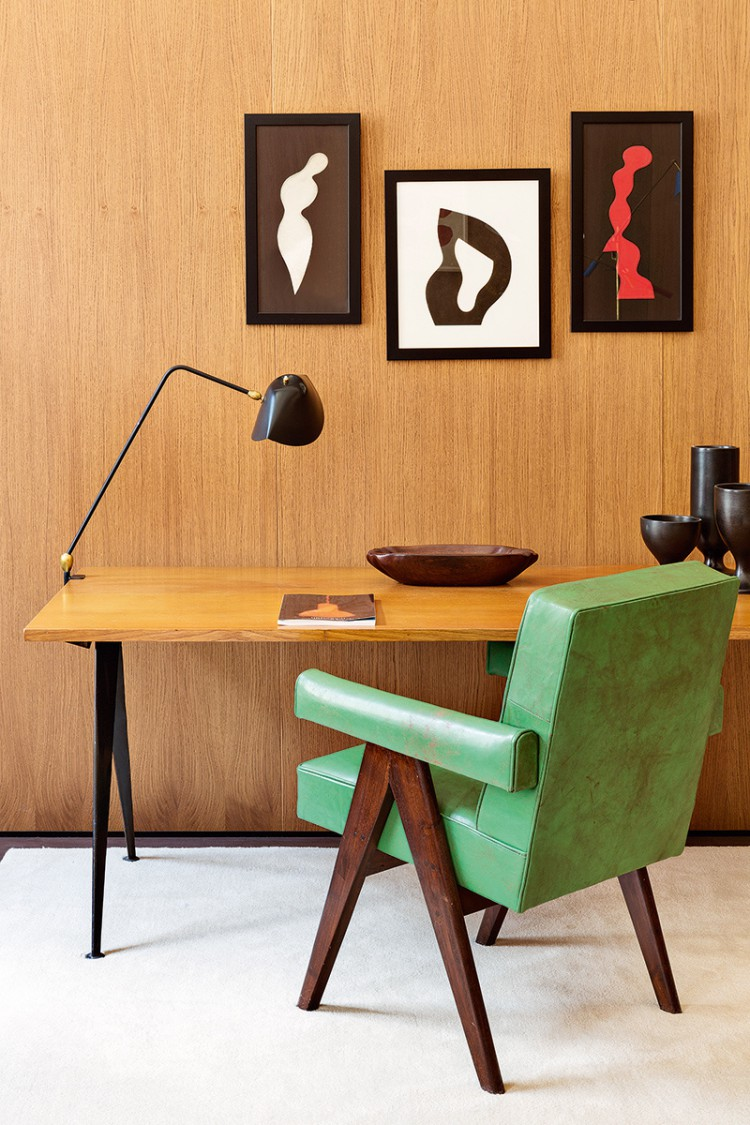 Image via Trendland. Photos by  Manolo Yllera  For images of his Berlin Home, visit  here.