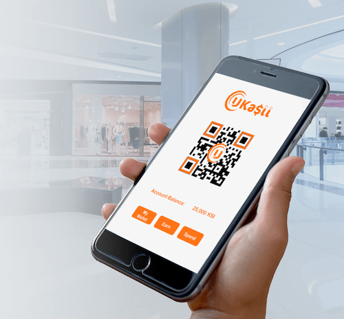 How to Become a UKasii Customer   UKasii is a completely mobile, blockchain loyalty rewards and eCommerce platform.  Register your interest below and we'll keep you up to date as we approach the launch date for the app.