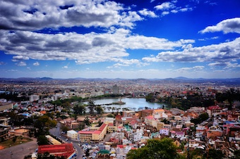 Antananarivo, the scenic capital of Madagascar