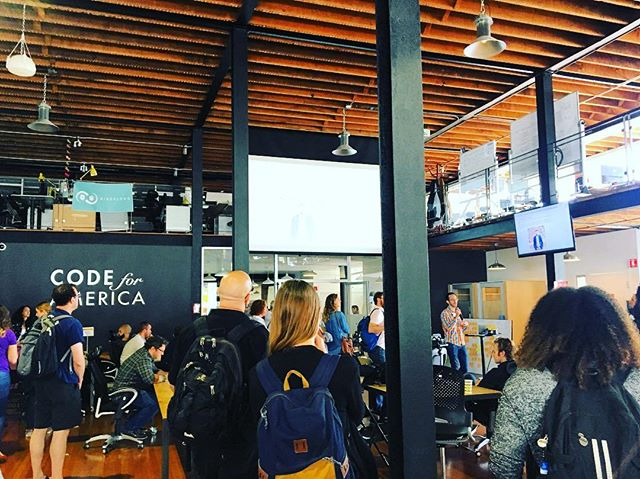 Had a blast today at the National Day of Civic Hacking put on by @codeforamerica / @devmissionorg. Great to see so many community members working on solutions for our local communities! Stay tuned to see how we are working to engage our youth to build impactful solutions for their neighbors and peers! #hatchintl #community #civictech #socialenterprise #hackathon #ideation #collaboration #youth #socialinnovation