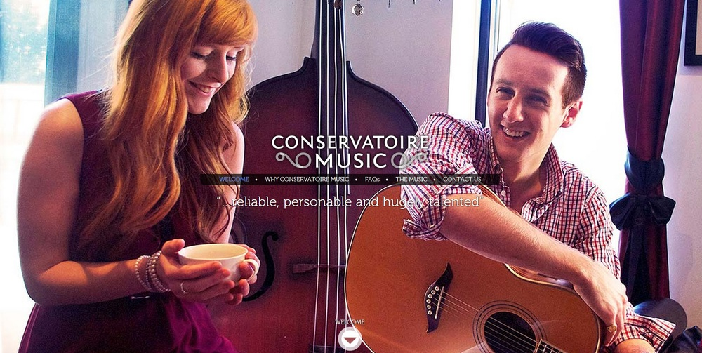 Conservatoire Music Home Page