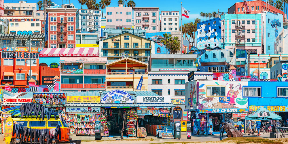 """Venice Boardwalk"" 2017"