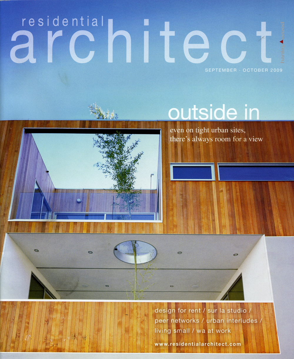 Residential architect magazine robitaille curtis for Free architecture magazines