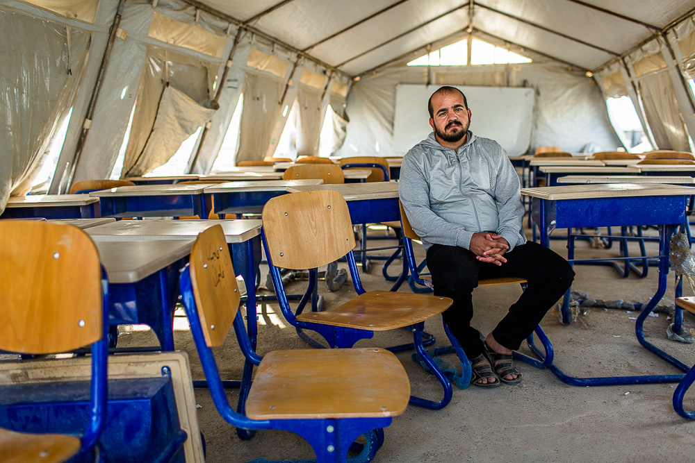 """I haven't received a salary for 4 months. We don't know when we'll get paid again."" - Zed (English teacher in a refugee camp for Yazidis in northern Iraq)    Teachers hired to teach internally displaced children in Kurdistand have not been paid for over 4 months. The reason is still unclear. Some say the government is stopping salaries to government employees in Kurdistan to prevent the money from passing into the Islamic State's hands. Others say, the government in Baghdad stop sending the money to Kurdistand to pay their employees because they are out of money. Others assert that it's a government conspiracy and the Kurdistan government is holding the money and blaming the Baghdad government."
