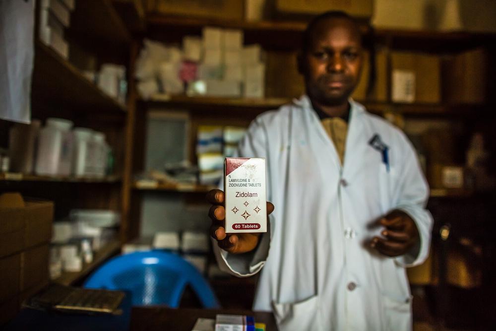 Nurse Norbert Chambu treats approximately 5 SGBV patients per we