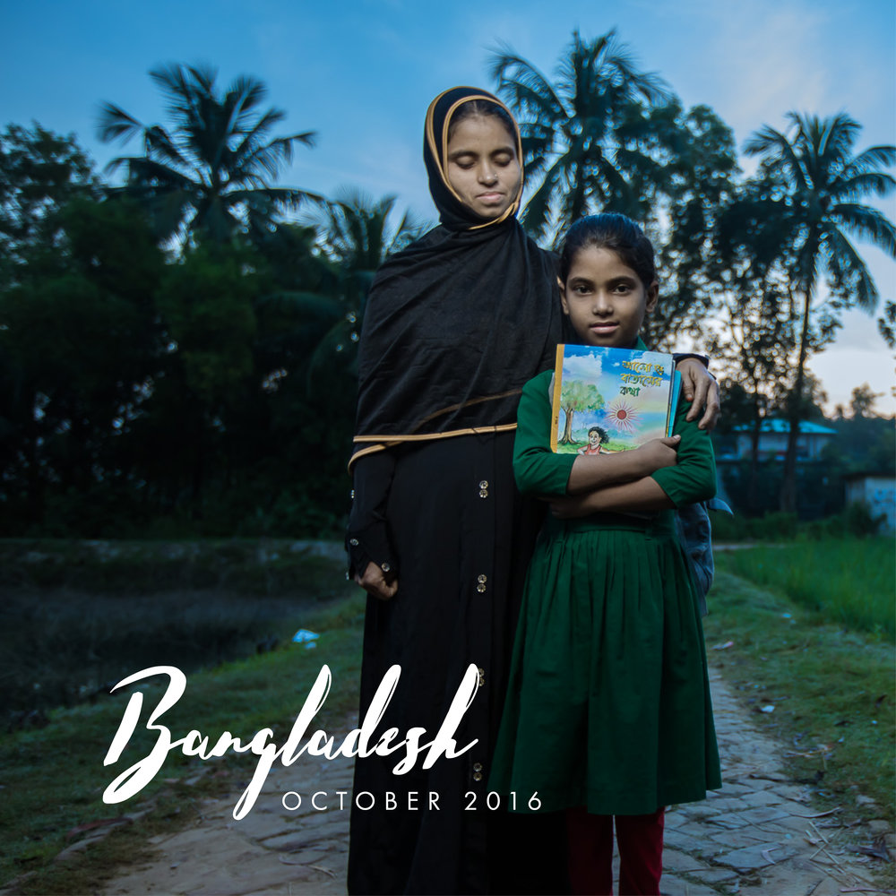 "Bangladesh has one of the largest primary education systems in the world with close to 20 million primary school aged children. However, only 10% of primary school children have the ability to read at their grade level.   ""It is especially important for women to be educated because today's girls are tomorrow's mothers and only an educated mother can create a well-educated nation,"" says Hasina, a teacher in Bangladesh.   In October we filmed a story on education in Bangladesh. This one's still in production, but stay tuned for the release of the short film in 2017."