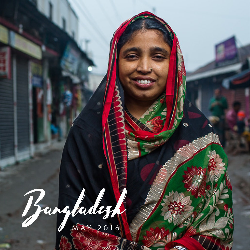In May, we flew to Bangladesh to film a story on how USAID is improving workers rights in garment factories.   With the income Shahara, 28, makes sewing blazers in Dhaka, she supports her parents, husband and two sons. She had to leave the comfort of family in their home village 4 hours away, to find a job in the city that could provide for them after her husband became ill and could no longer work to support the family. When she first started at the factory 7 years ago, conditions were rough. She did not get paid on time, she didn't have paid leave, and they couldn't talk to management to address problems. After joining a trade union, Shahara learned about workers rights and labor laws. Now, they can discuss issues with management, they get paid on-time, they have daycare at the factory to keep their children, and they have scheduled leave. With her income, she supports her eldest son's education and has bought a plot of land next to her parents' house where she'll build a new house for her family.  Watch the film at: http://www.namuh.org/films