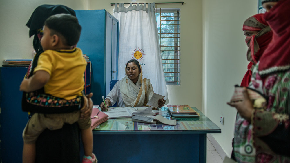 Smiling Sun Clinic in Chittagong, Bangladesh.
