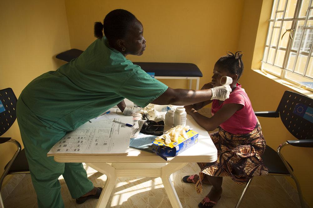 Zainab Tity Sawaneh, Maternal and Child Health Aide at Konsho CH