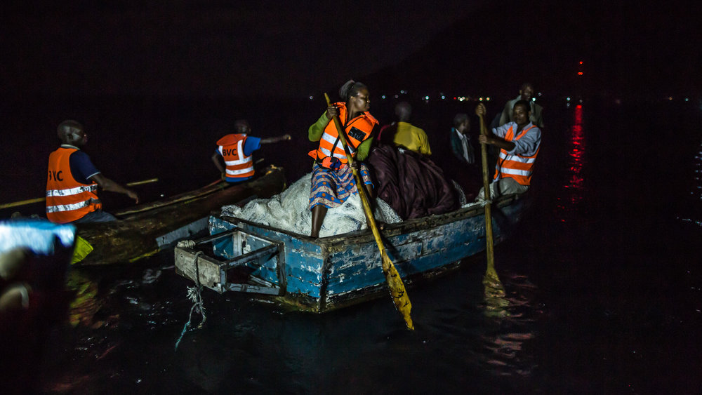 BVC members seize and take control of a fishing boat who's fishi