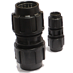 cOUPLINGS rated to 200 PSI @ 73ºF WORKING PRESSURE. Available in IPS & CTS sizes.