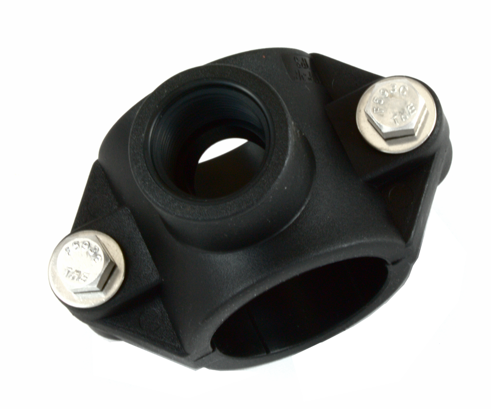 Saddles rated to 150 PSI @ 73ºF WORKING PRESSURE. Available in IPS sizes.