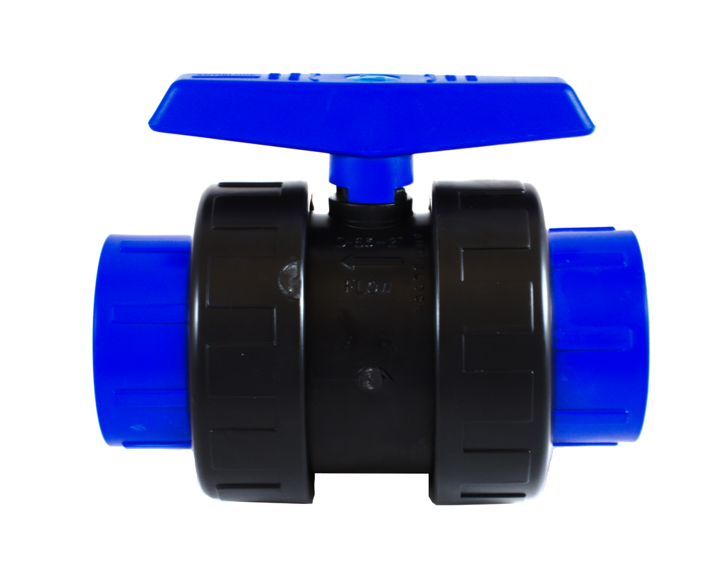 PP Ball Valves rated to 200PSI @ 73ºF WORKING PRESSURE. Available in IPS, CTS & fipt sizes.