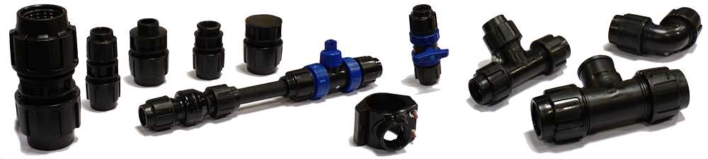 PP Fittings, Valves & Saddles