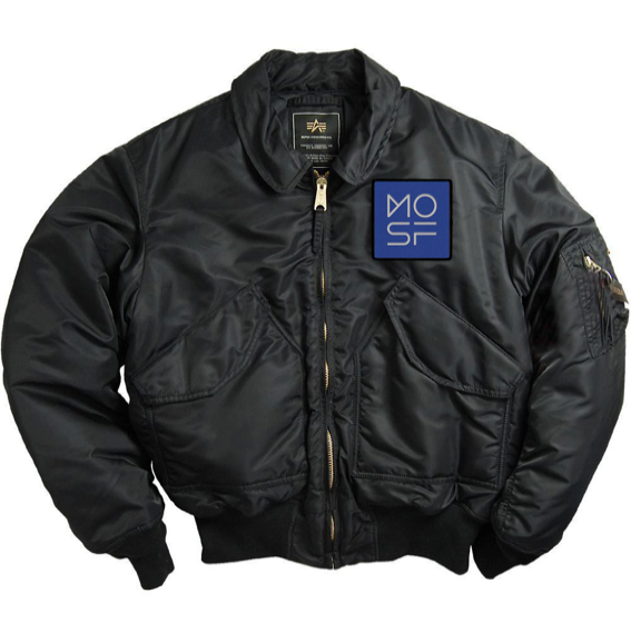 "The Museum of Science Fiction ""staff-only"" MA-1 flight jacket"