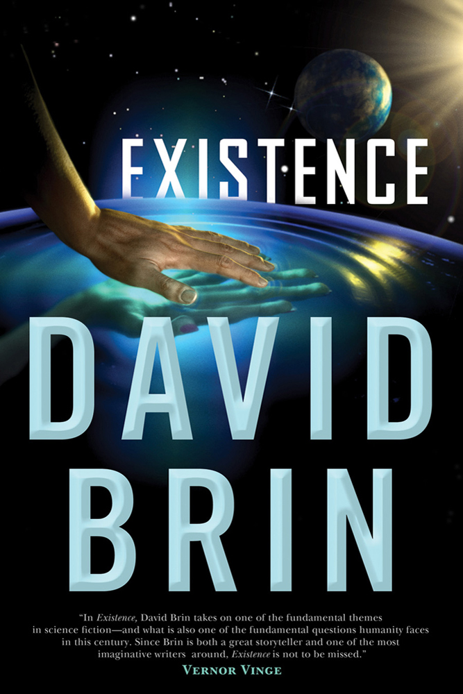 $99 signed hardcover of Existenceby David Brin