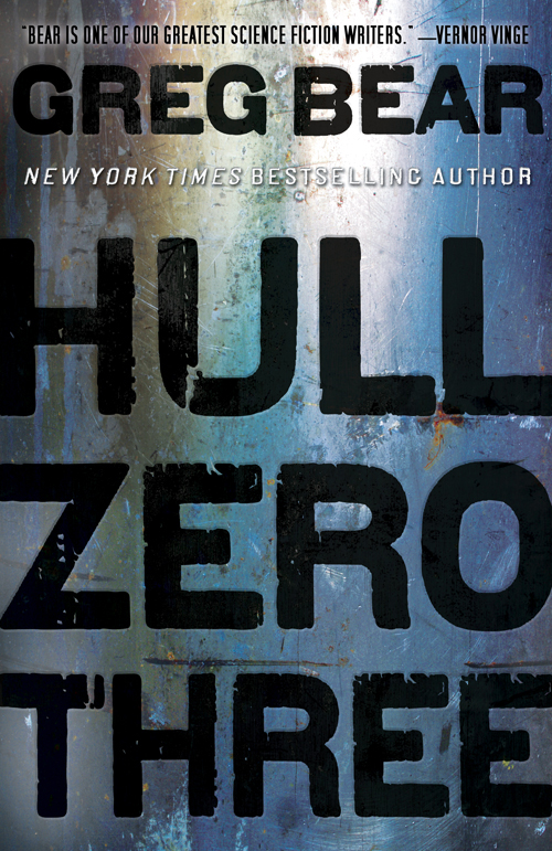 $98 signed hardcover of Hull Zero Threeby Greg Bear