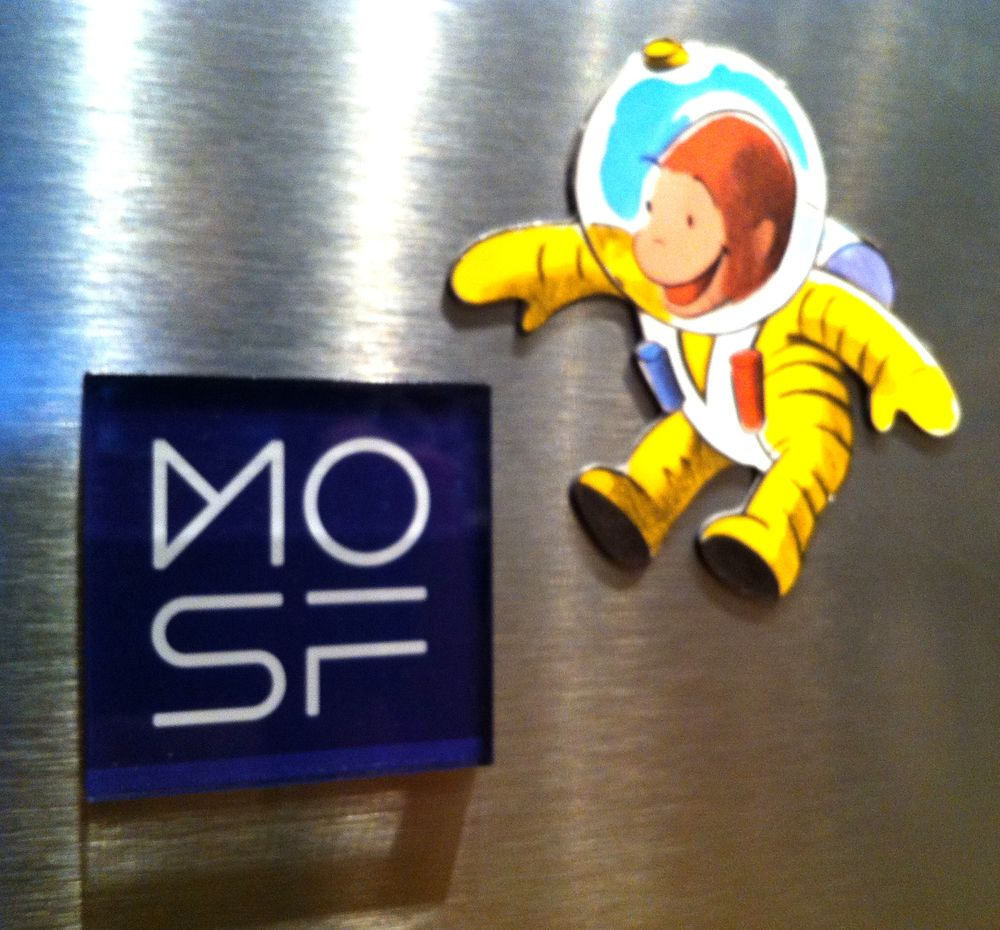 $21 Museum of Science Fiction Refrigerator Magnet (Curious George not included)