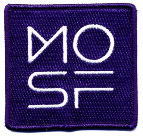 """$20 Museum of Science Fiction 3"""" patch"""