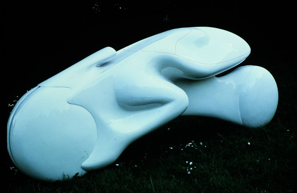 Model of Frog motorcycle, January 1980 Luigi Colani (design) & Malcolm Kirk (photo)